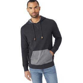 tentree Renfrew Hoodie Men Meteorite Black/Woodgrain Black